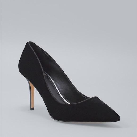 ce71feb095 White House Black Market Shoes   Black Velvet Pumps   Poshmark